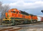 BNSF 6860 & 534