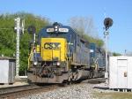 CSX 8876 Splits the signals