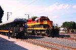 KCSM Southern Belle at Queretaro Station