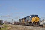 CSXT 3318 On CSX K 524 Eastbound