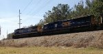 CSX C40-8 7604, SD70AC 4500, and AC44CW 133