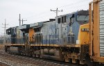 Second unit on a westbound all autorack at Buffalo