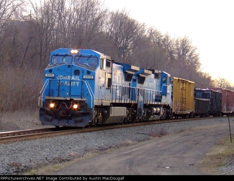Solid Conrail on 19G