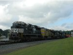 NS 1090 (SD70ACe) UP 8086 (AC45CCTE) NS 8835 (C40-9) NS 8784 (C40-9)