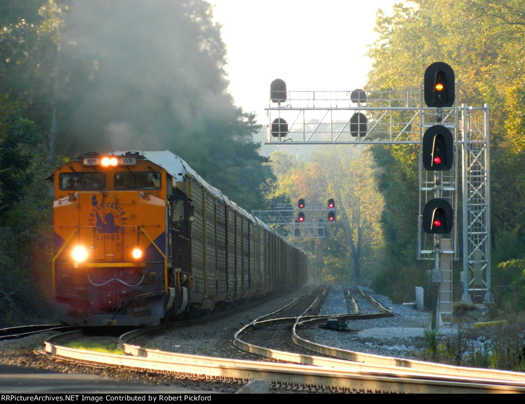 NS 1071 (SD70ACe) JERSEY CENTRAL LINES HERITAGE 2569 (SD70)