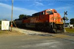 BNSF 8592 and 9677