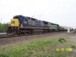 CSX 7595 & FURX 3012