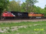 CN 5693 & BNSF 4301