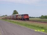 CN 5265 & UP 4002