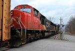 Canadian National SD75I 5734
