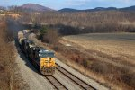 CSX Q317 on the Mountain Sub