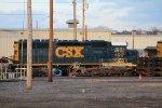 CSX SD40 4617