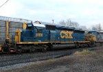 CSX SD40-2 8100
