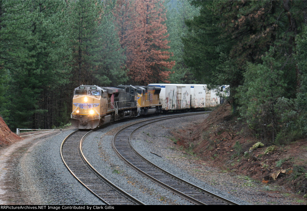 UP 5660 Eastbound