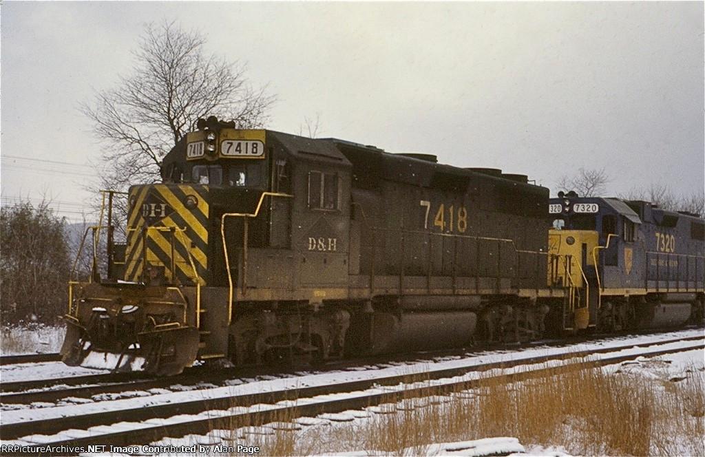 D&H GP39-2 7418