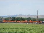 3 BNSF Engines