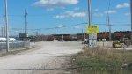 Yard entrance & locomotive staging