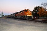 BNSF 8558 and 9603