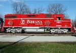 Indiana Rail Road Santa Train