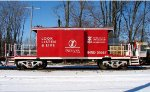 INRD Operation Lifesaver Caboose