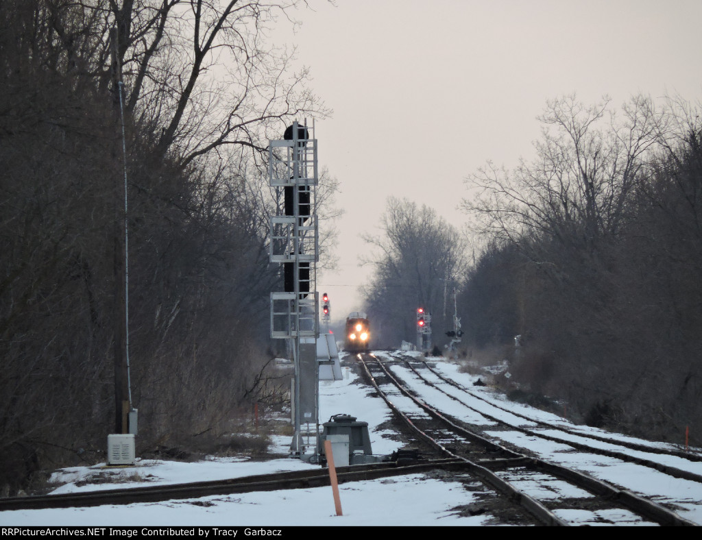CN 8838 north on the Holly sub