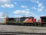 CN 2033 on wye