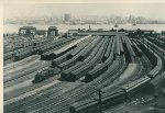 NYC Weehawken Terminal NJ ~1930