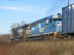 NS SD40-2 R # 3444 still in blue