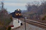 NS coal drag northbound at Columbus
