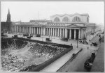 Pennsylvania Railroad Station, New York City, from 6th Ave.  ca1912