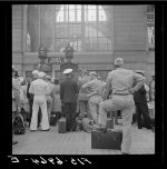 New York, New York. Pennsylvania railroad station