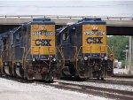 CSX 2504 and 6062