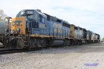 CSX Memphis Jct. yard power