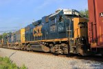 J768-10 Passing Smiths Grove, KY with 4 Old EMDs.