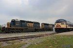 SB CSX Autorack Train