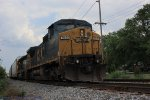 SB CSX Stopped in Siding