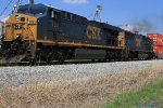 CSX 798 leads Q133 past Sanderson