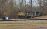 Some CSX power sits at Corbin