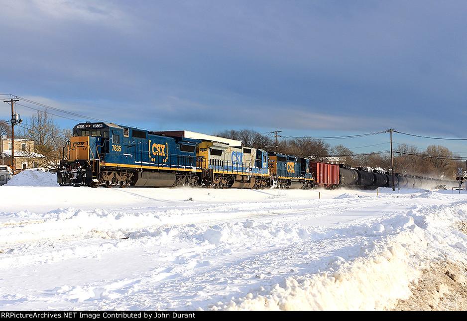 CSX 7635 on K-141