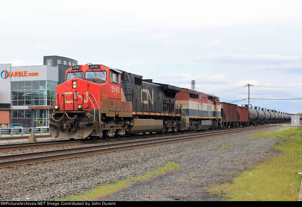 CN 2542 on K-614