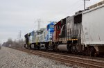 NS AC44C6Ms at Cooke Road in Columbus OH