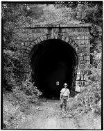 Central Pacific Railroad, Clipper Gap Tunnel, Clipper Gap, Placer County, CA
