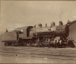 Central Pacific Railroad steam locomotive 2617 and crew Published 19__