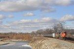 CN 2224 On NS 64 Q Eastbound
