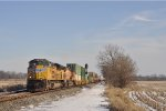 UP 8482 On NS 282 Westbound