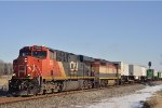 CN 2224 On NS 282 Westbound