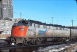 Amtrak 425 photo taken at Buffalo Central Terminal Buffalo NY on December 4, 1977