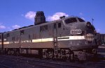 NYC 4010 at Buffalo Central Terminal in 1968