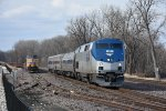 AMTK 67 Leads train 313 into Washington Mo.