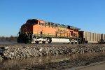 BNSF 5751 Dpu on a loaded coal drag.
